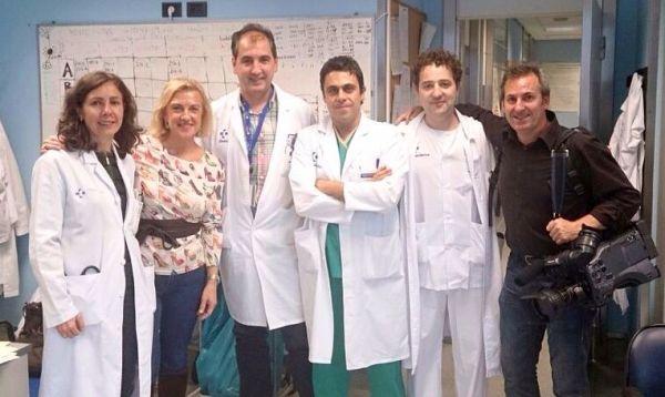 Dra. Covadonga Fernández Maiztegi, Begoña Zubieta, Dr. Juan Carlos Gómez Esteban, Dr. Alberto Gil, Dr. Tomás Pérez Concha, Larri